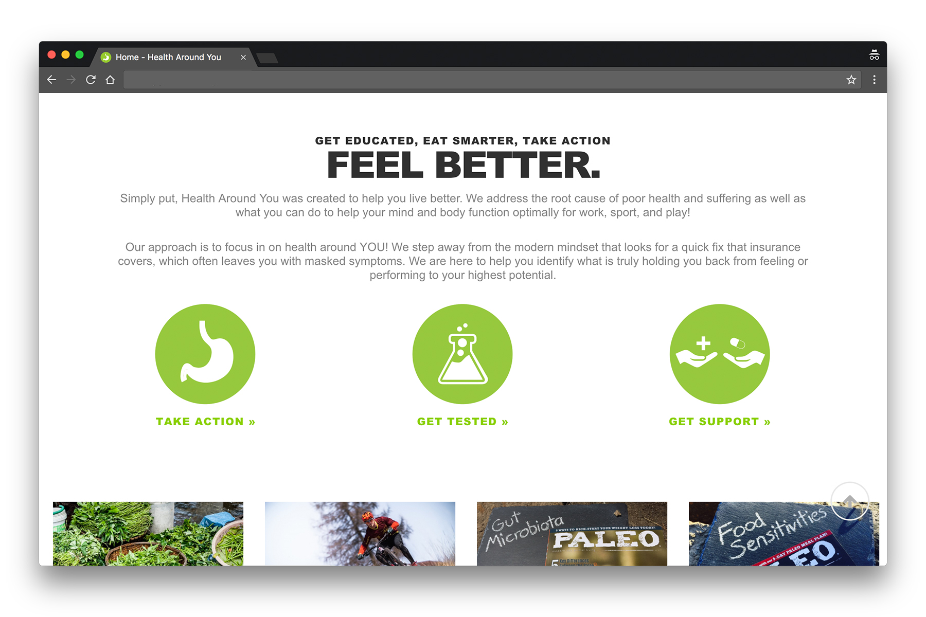HealthAroundYou-WebsiteDesignProject-Home