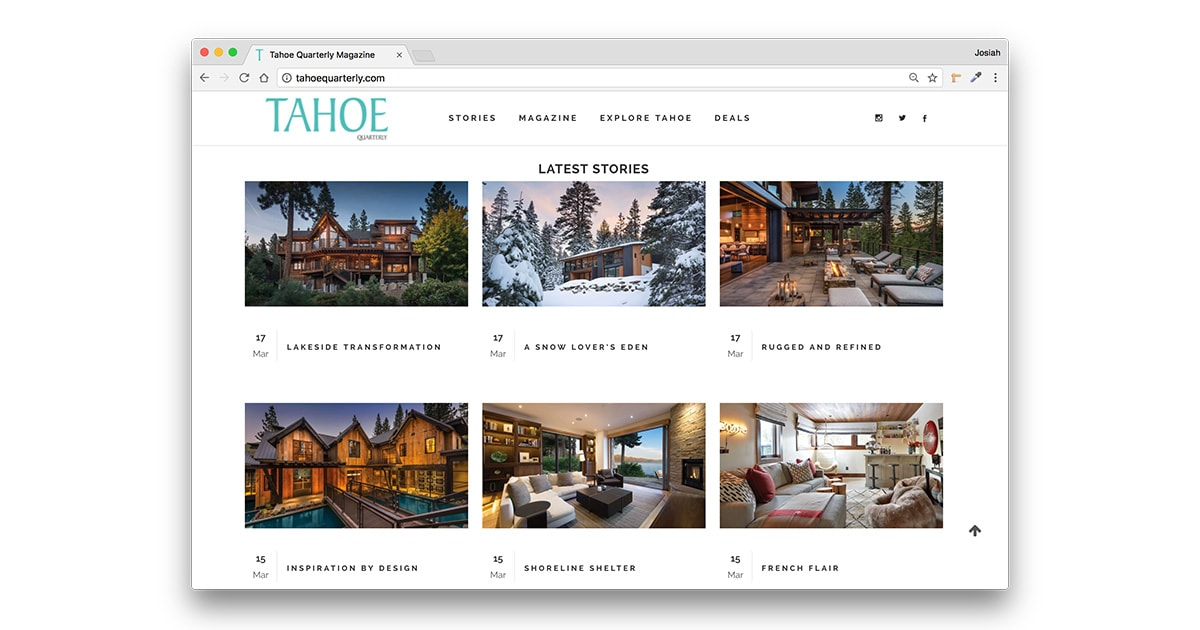 WebsiteDesignProject-TahoeQuarterly